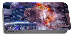 Portable Battery Charger featuring the photograph Detroit Lions At Ford Field 2 by Nicholas Grunas