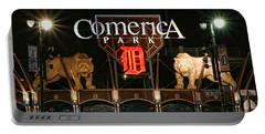 Detroit Tigers - Comerica Park Portable Battery Charger