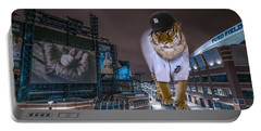 Portable Battery Charger featuring the photograph Detroit Tigers At  Comerica Park by Nicholas  Grunas