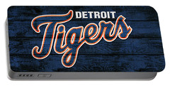 Detroit Tigers Barn Door Portable Battery Charger
