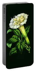Devil Trumpet Datura Fastuosa Portable Battery Charger
