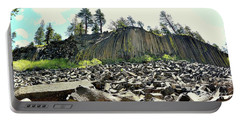 Devils Postpile Wide Portable Battery Charger