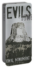 Devils Tower Stamp Portable Battery Charger
