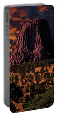 Devils Tower Sunrise Portable Battery Charger