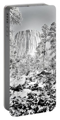 Devils Tower Wyoming Portable Battery Charger