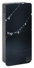 Dew On Cobweb 001 Portable Battery Charger
