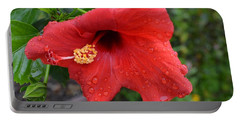 Dew On Flower Portable Battery Charger