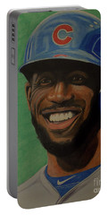 Dexter Fowler Portrait Portable Battery Charger