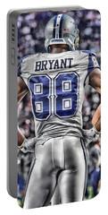 Dez Bryant Cowboys Art 2 Portable Battery Charger