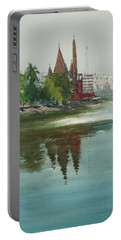Dhanmondi Lake 04 Portable Battery Charger by Helal Uddin