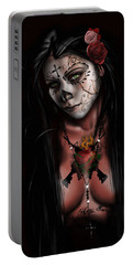 Dia De Los Muertos 3 Portable Battery Charger