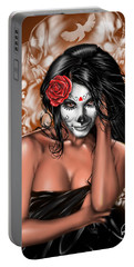 Dia De Los Muertos Remix Portable Battery Charger