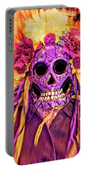 Dia De Muertos Mask Portable Battery Charger