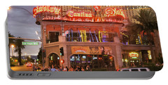 Diablo's Cantina In Las Vegas Portable Battery Charger by RicardMN Photography