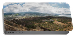 Diamond Head View Panoramic Portable Battery Charger