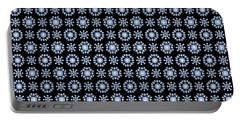 Diamond Mandala Pattern Portable Battery Charger