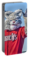 Diamondbacks Mascot Baxter Portable Battery Charger by Jon Berghoff