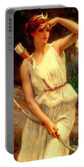 Diana The Huntress Guillaume Seignac  Portable Battery Charger