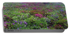 Dickerman Floral Meadow Portable Battery Charger