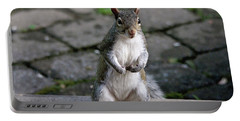 Portable Battery Charger featuring the photograph Did You Say Peanuts? by Trina Ansel
