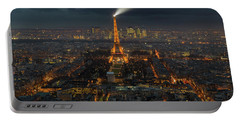 Didn't Know Paris Has A Skyline Portable Battery Charger by Alex Aves
