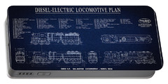 Diesel-electric Locomotive Plan C. 1960 Portable Battery Charger