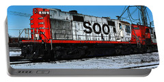 Diesel Locomotive Soo 416, Alco Rs27 Portable Battery Charger by Wernher Krutein