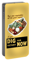 Dig For Victory Now Portable Battery Charger