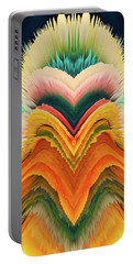 Portable Battery Charger featuring the photograph Vivid Eruption by Colleen Taylor