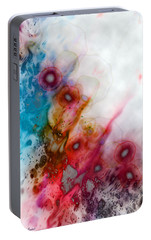 Portable Battery Charger featuring the digital art Digital Dreaming by Linda Sannuti