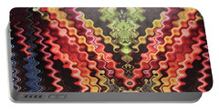 Portable Battery Charger featuring the digital art Digital Fineart Graphics Based On Vegetables Salads Kitchen Chef Cuisine Food Christmas Birthday Mom by Navin Joshi