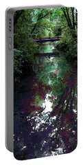 Digital Painting Hidden Woodland Stream 2864 Dp_2 Portable Battery Charger