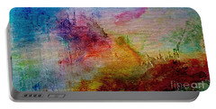 1a Abstract Expressionism Digital Painting Portable Battery Charger
