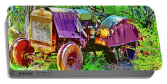 Dilapidated Tractor Portable Battery Charger