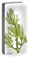 Dill Plant Portable Battery Charger