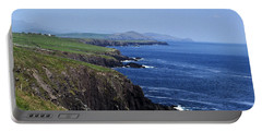 Dingle Coast Near Fahan Ireland Portable Battery Charger