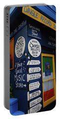 Dingle Record Shop Portable Battery Charger by Melinda Saminski