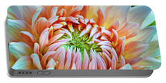 Dinner Plate Dahlia Portable Battery Charger
