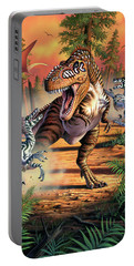 Dino Battle Portable Battery Charger