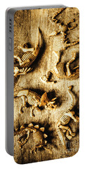 Dinosaurs In A Bone Display Portable Battery Charger