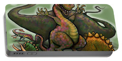 Dinosaurs Portable Battery Charger