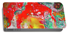 Dioniz - Colorful Modern Abstract Art Portable Battery Charger