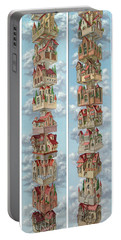 Diptych Air Castles Portable Battery Charger