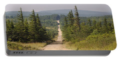 Dirt Road To Dolly Sods Portable Battery Charger