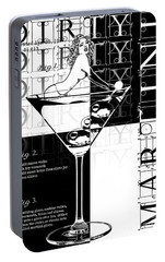 Dirty Dirty Martini Portable Battery Charger by Jon Neidert