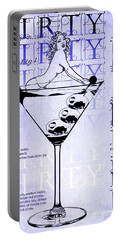Dirty Dirty Martini Patent Blueprint Portable Battery Charger