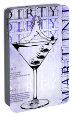Dirty Dirty Martini Patent Blueprint Portable Battery Charger by Jon Neidert