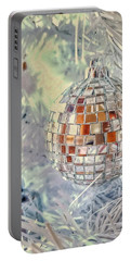 Disco Ball Tree Ornament Portable Battery Charger