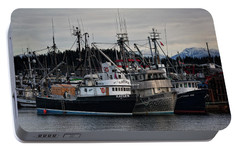 Portable Battery Charger featuring the photograph Discovery Harbour by Randy Hall