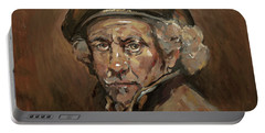 Disguised As Rembrandt Van Rijn Portable Battery Charger